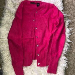 Angora Pink Victoria Secret Cardigan Sweater